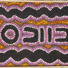Australian Aboriginal art painting